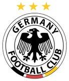 Marque du football de l'Allemagne Images stock