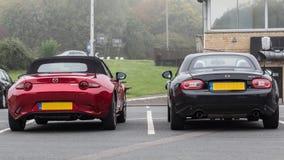 Marque 3 et 4 de Mazda MX5 Image stock
