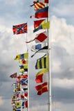 marque l'international Photographie stock libre de droits