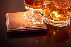 Marque préférée de whiskey Photo libre de droits