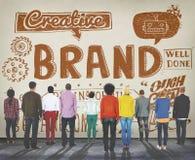 Marque stigmatisant le concept de vente de marque déposée de Copyright Images stock