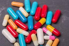 Marque sur tablette des pilules Photographie stock libre de droits