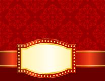 Marquee background / frame Stock Images