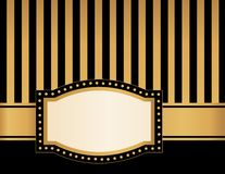 Marquee frame royalty free illustration