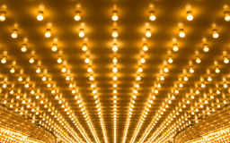 Marquee lights Royalty Free Stock Image