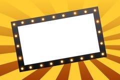 marquee movie Στοκ εικόνες με δικαίωμα ελεύθερης χρήσης