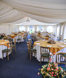 Marquee Seating. At a special event Royalty Free Stock Image