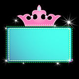 Marquee sign. Illustration of a theater marquee sign Stock Photography