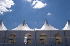 Marquee Tent Stock Image
