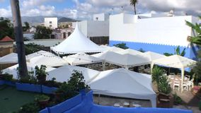 MARQUEES FROM ABOVE stock video