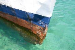 Marques d'ébauche de bateau Photographie stock libre de droits