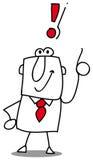 Marques d'exclamation illustration de vecteur