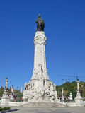 Marques de Pombal,里斯本,葡萄牙 免版税库存图片