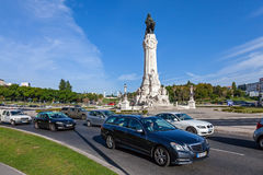 Marques de Pombal Roundabout photo stock