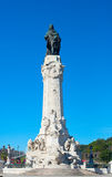 Marques do Pombal statue Royalty Free Stock Image