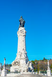 Marques do Pombal statue. Lisbon Royalty Free Stock Photos