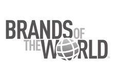 Marques du logo du monde illustration libre de droits