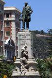 Marques Manuel Larios monument, Malaga, Spain Royalty Free Stock Images