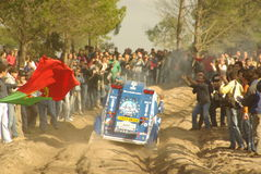 Marques, rassemblement 2007 de Dakar Image libre de droits