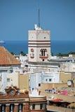 Marques of Recano Palace, Cadiz. stock image