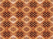 Marquetry wood parquet Royalty Free Stock Images