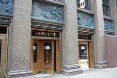 Marquette Building, Chicago fotografia de stock