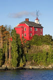 Marquette Harbor Lighthouse Royalty Free Stock Photo