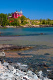 Marquette Harbor Lighthouse Stock Photography