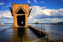 Marquette Iron Ore Docks fotos de stock