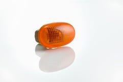 Marqueur orange de lumière latérale photo libre de droits