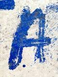 Marquez avec des lettres A Images libres de droits