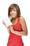 marquez avec des lettres la femme d'amour Photographie stock