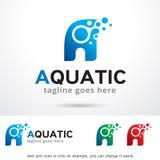 Marquez avec des lettres Logo Template Design Vector Image stock
