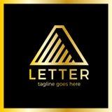 Marquez avec des lettres une ligne flèche vers le haut de Logotype Photos libres de droits