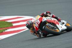 Marquez de Marc, gp 2014 del moto Fotografía de archivo