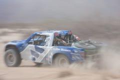 Marquez la course de camion de la route 4x4 Baja Image libre de droits