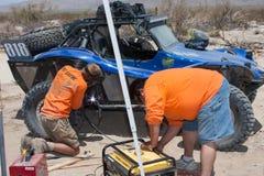 Marquez la course de camion de la route 4x4 Baja Photographie stock