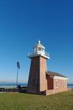 Marquez le phare commémoratif d'Abbott dans Santa Cruz la Californie photo stock