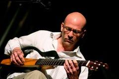 Marquez Lucas sur l'étape au festival de jazz de l'Ombrie Images stock