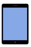 Marquez sur tablette l'écran bleu de PC Photographie stock libre de droits