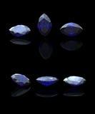 Marquis bleu. Benitoit. Saphir Image libre de droits