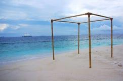 Marquis d'île, Maldives Photos libres de droits