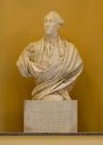 Marquis de Lafayette staty Arkivfoton
