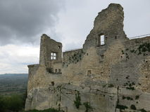 Marquis de Sade castle Stock Image