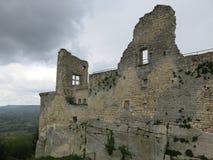 Marquis de Sade-Schloss Stockbild