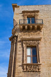 Marquis Palace. Galatone. Puglia. Italy. Royalty Free Stock Photos