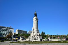 Marquis of Pombal Square Stock Photography