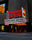 Marquis Theatre, Manhattan, NYC Royalty Free Stock Photography