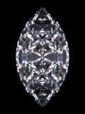 Marquise del diamante Immagini Stock Libere da Diritti