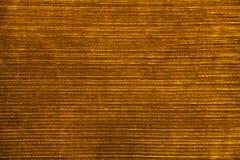 Marrón amarillo de la tela del terciopelo Fondo de la vendimia Foto de archivo libre de regalías